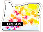 State of Oregon Magnets